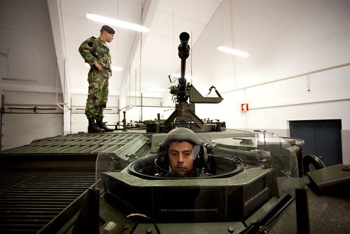 Reportagem no Regimento de Infantaria 13, em Vila Real