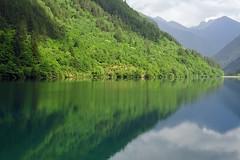 Jiuzhai National Park (A UNESCO site) (cowboy6688) Tags: unesco worldheritagesite sichuan 九寨沟 jiuzhaigounationalpark flickraward nikonflickraward blinkagain bestofblinkwinners