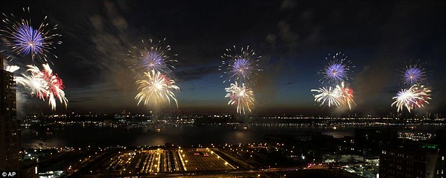 Happy Independence Day! New York and Washington lead the nation in Fourth of July fireworks celebrations  1