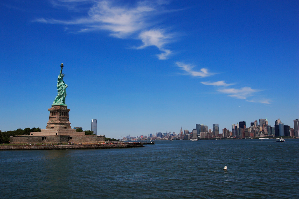 Downtown New York - Statue of Liberty