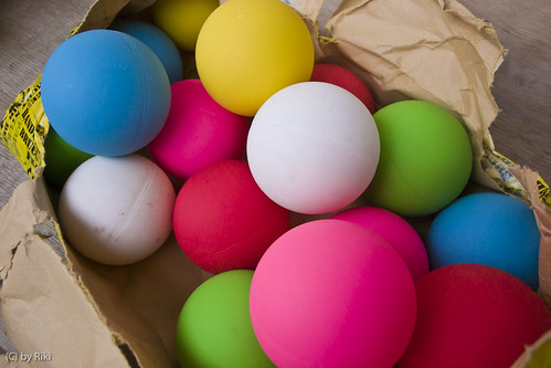 color balls for bike polo