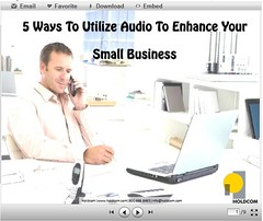 Slideshare Presentation: Audio marketing for small business