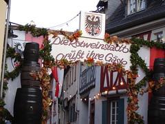 Willkommen zum Rotweinfest in Ingelheim