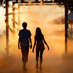 Walking on sunshine (Bn) Tags: sunset sea summer sunlight mist holiday tower water girl silhouette st fog lady port geotagged harbor fan town cool ancient topf50 women bell roman dusk walk air medieval spray topf300 holy greece slovenia coastal capodistria heat raid independence stmary topf100 topf200 trieste adriatic istria rayoflight koper slovenian capris capre topf400 sloveni 100faves 50faves 200faves titov caprea gallivant 300faves 400faves befog befogged kopar nazarius airspun gafers aegida bayofkoper gulfofkoper airsprayed airstirring airthreatening caprista cevljarska geo:lon=13725529 geo:lat=45548472