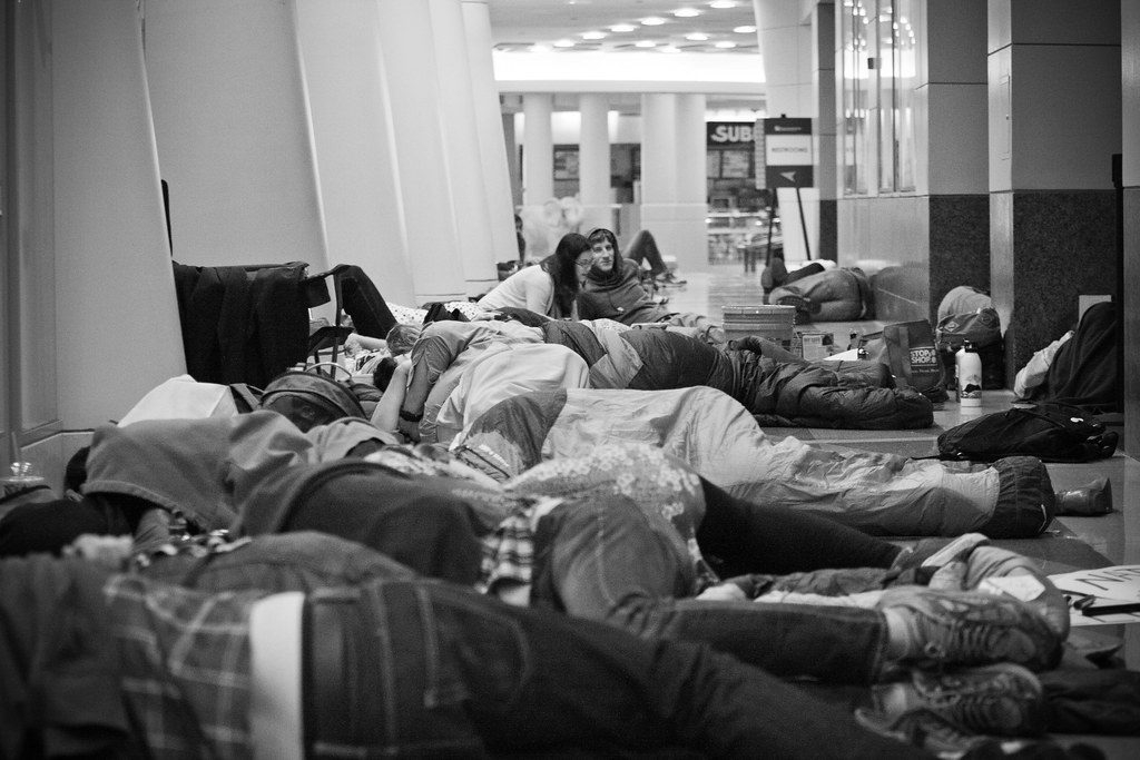 #OccupyStateDept (Photo Credit: Josh Lopez)