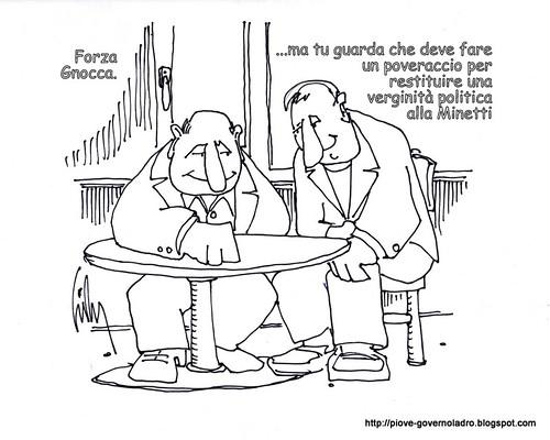 Aria nuova, un nuovo partito. Forza Gnocca! by Livio Bonino