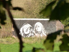 art in Preston (tesslater) Tags: art graffiti preston bernini 2012 moot penwortham avenham teaone prestonguild stteresaofanvila 2012guild