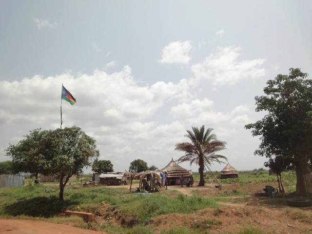 Road from Juba to border with DR Congo
