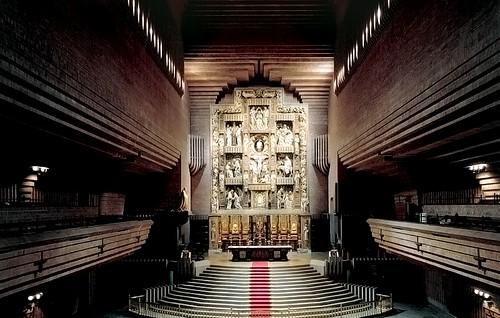 Vista general del interior del templo
