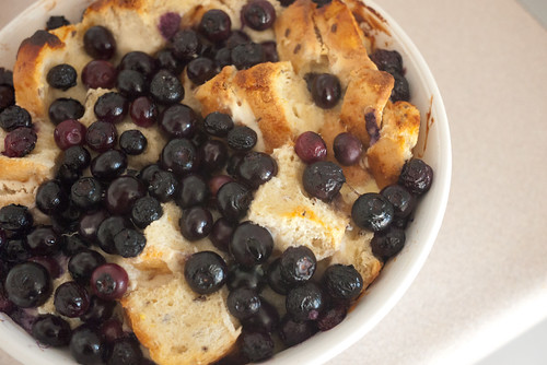 Deep Dish Blueberry Maple French Toast