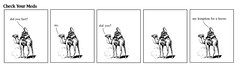 d man on a camel (dmixo6) Tags: canada comics funny humor clipart camels farts dugg dmixo6