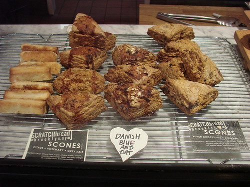 Scratch Bread Scones at Culture