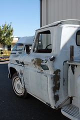 (Boxer Metal) Tags: truck vintage pickup before 1966 66 chevy arrival stepside c10 shortbed canterburyfour boxermetal