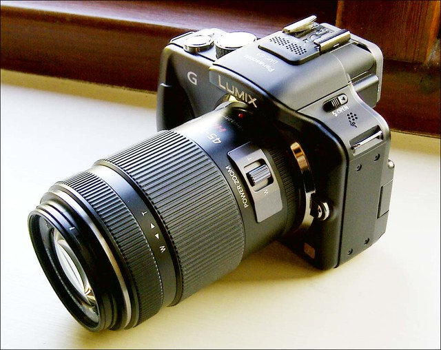 Panasonic G3 Lumix 45-175mm X lens