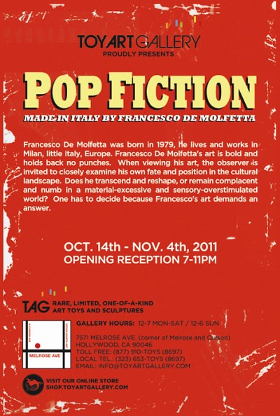 POP FICTION by Francesco de Molfetta