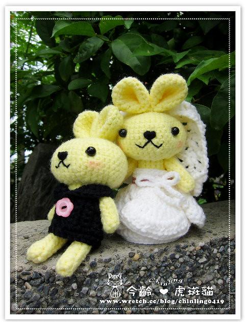 兔子.婚禮娃娃8
