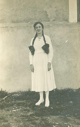 Carmen Bellido de adolescente