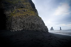 Iceland - The South Coast VI (Alan1086) Tags: sea seascape weather landscape sand waves cloudy south balck beaches basalt icelandtravel