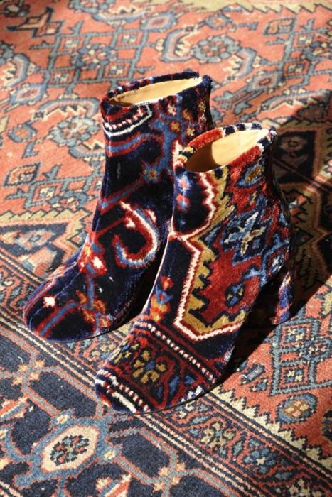 Margiela SS12 carpet boots