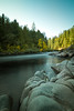Upstream (tylermielnichuk) Tags: longexposure canada motion blur fall nature water canon river movement bc smooth nanaimo 7d nd silky weldingglass tokina1116mmf28