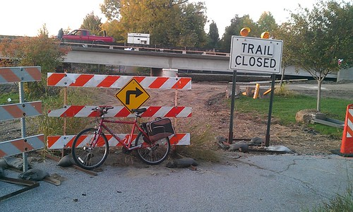 The Cattail Trail is Closed