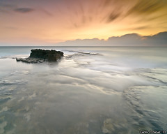 Amanecer en Cabo Cervera (Carlos J. Teruel) Tags: longexposure espaa sunrise mar nikon paisaje alicante amanecer nubes reflejo torrevieja d300 filtros 2011 cabocervera tokina1116 xaviersam singhraynd3revgrad leebigstopper