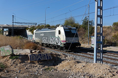 buni - train #1287 (dug_da_bug) Tags: madrid train tren graffiti spain freight zone kr2 meko mno dms dewer buny 033 buni mercancias dwer demese irbros
