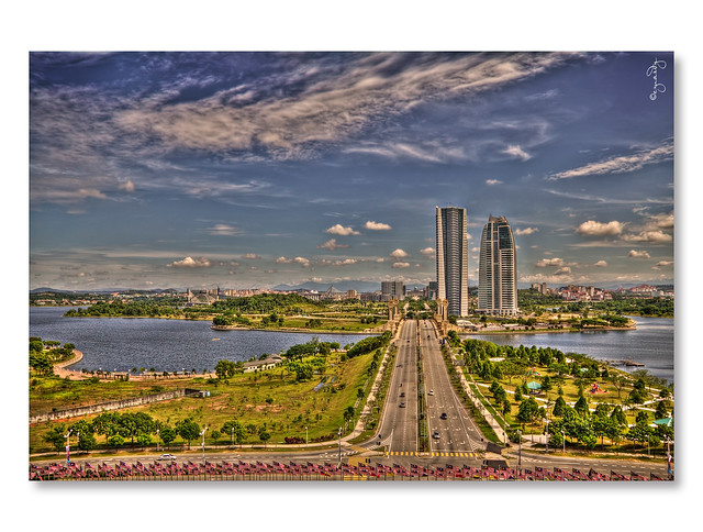 Putrajaya View from  PICC