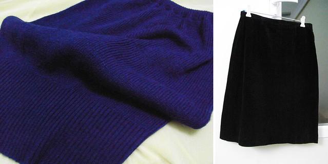 faldas trueque