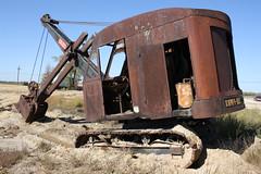 Link Belt Speeder (dbro1206) Tags: old abandoned rust mechanical tracks rusty equipment explore machinery resting shovel decayed speeder oldiron linkbelt linkbeltspeeder
