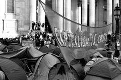 Occupy London (Matthew Benjamin Coleman) Tags: capitalism cathedral cityoflondon cuts demonstration england kodak kodak100tmx kodaktmax100professional london occupation occupy occupylsx occupylondon occupythelondonstockexchange paternostersquare politics protest stpauls stpaulscathedral tmax the99 uk wearethe99 capitalismiscrisis