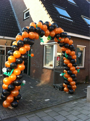 Ballonboog 7m Halloween