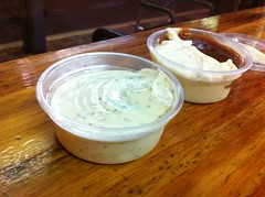 chip dips - Bilby's Chargrilled Burgers