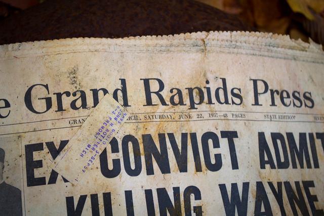 1957 newspaper