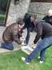 DTEC : empreinte de pied (moule) (Animation Concept) Tags: police teambuilding dtec policière détective tactique consolidation criminel enquête scènedecrime animationconcept