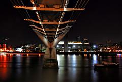 Millennium Bridge (richwat2011) Tags: longexposure bridge urban london thames modern river nikon cityscape tate tripod millennium d200 manfrotto