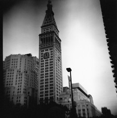 Lomography NY Life Building Black and White New York Life Building Flat Iron Building Flat Iron District 120 Film Diana F Diana Camera (moonman82) Tags: life new york nyc newyorkcity blackandwhite bw white ny newyork black building 120 film nature architecture composition analog design town lomography construction iron flat habit district character content structure 120film formation diana f frame type form essence dianacamera build dianaf flatironbuilding contents newyorklifebuilding physique temper habitus disposition vitality flatirondistrict temperament nylifebuilding townnewyork cameralomography picturesofcitybuildings newyorkcitybuildingsblackandwhite blackandwhitelomographynyc
