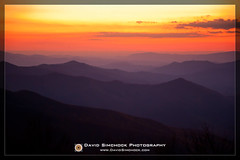 Cherohala Skyway (David Simchock Photography) Tags: autumn sunset usa mountain mountains fall landscape photography photo nikon image northcarolina watermark cherohalaskyway vagabondvistas davidsimchock davidsimchockphotography agencygettyimages