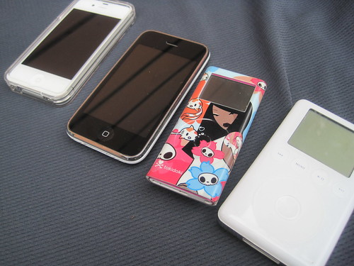 iPod to iPhone transition...