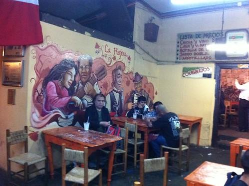Santiago de Chile | La Piojera | Señor que nos hacía fotos