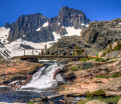 Garnet Lake Foot Bridge - Bowman66