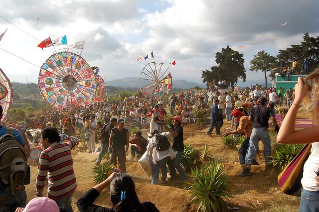 Santiago Sacatepequez Kite Festival