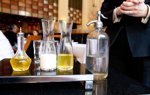 Presenting the egg cream, Eleven Madison Park's way