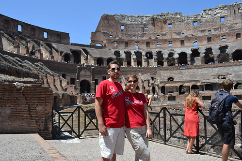 At the Coliseum