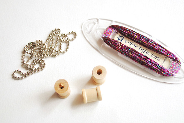 Mini Spool Necklace