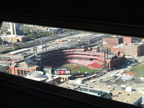 Oct 20 - Stadium through Arch Window