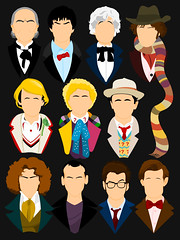 The Eleven Doctors (Tom Trager) Tags: river matt tv cool pond amy who song smith doctor quotes doctorwho scifi dalek tardis vector tombaker peterdavison colinbaker simplistic mattsmith sylvestermccoy patricktroughton davidtennant christophereccleston jonpertwee paulmcgann williamhartnell gallifrey
