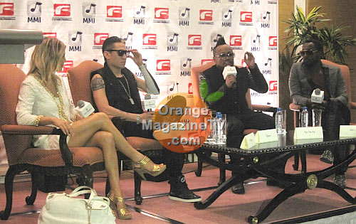 Black Eyed Peas presscon in Manila
