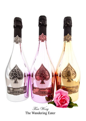Entire line of Armand de Brignac Champagnes