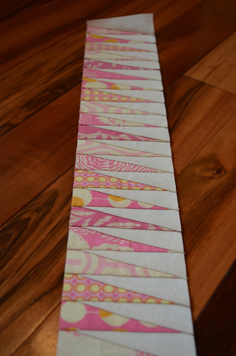 Mystery Quilt QAL - Jaggy Infill Strip
